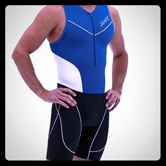 Men's Zoot Triathlon padded suit size M